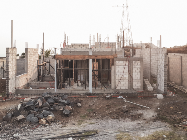 Casa Totolapan Under Construction : SLOT